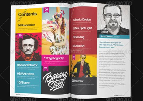 10 beautiful indesign templates for architecture magazine
