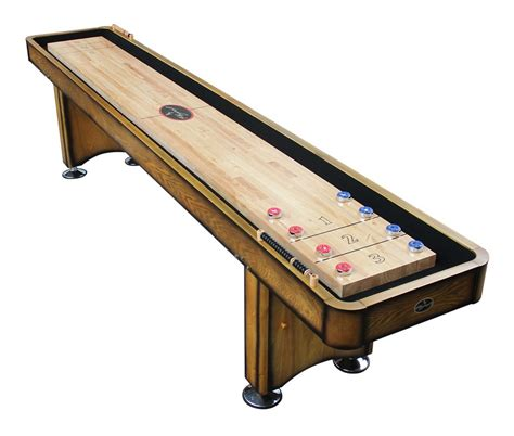 12 georgetown honey shuffleboard table shuffleboard net
