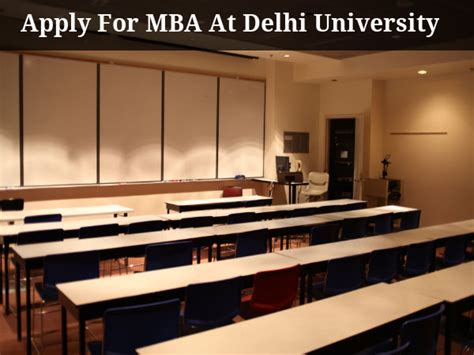 Delhi School Of Economics Mba Admission by Fms Delhi Offers Mba Admissions Through Cat