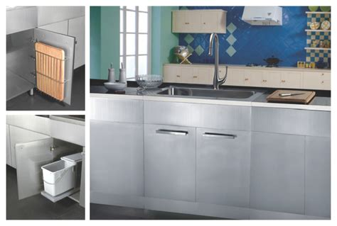 Metal Kitchen Sink Base Cabinet by Stainless Steel Sink Base Cabinets Kitchen San
