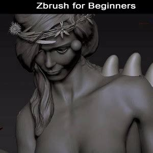 zbrush sculpting tutorial for beginners essential introduction to zbrush beginners video
