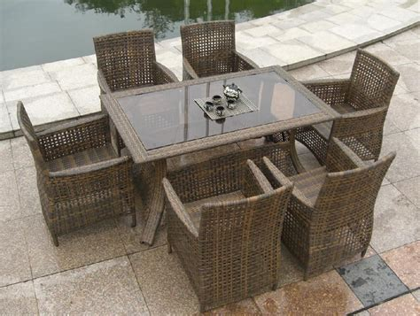 Rattan Patio Chair Rattan Dining Furniture Outdoor Chairs Seating