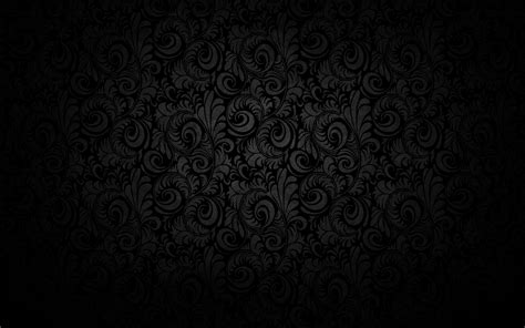 Black Pattern Texture Wallpaper | pattern floral black background wallpaper design text