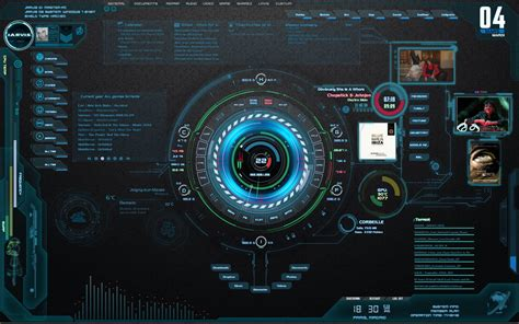 jarvis theme for windows 7 rainmeter wip jarvis highpitched hud v1 by 5ynt3t1k on deviantart