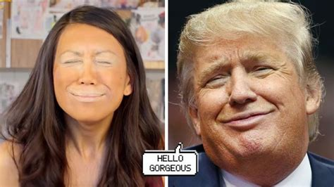 tutorial makeup trump trumping is the new beauty trend you wish you could