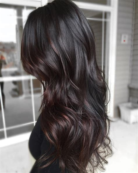 hair color for over30 from all over black to cocoa and espresso tones