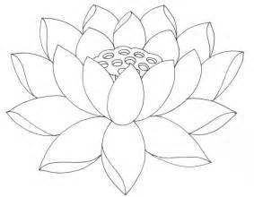 Outline Coloring Page by Simple Flower Outline Az Coloring Pages
