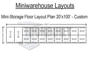 Storage Building Floor Plans by Mini Storage Buildings Self Storage Buildings Free Floor