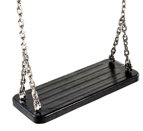 swing seat and chain rubber swing seat with steel chains
