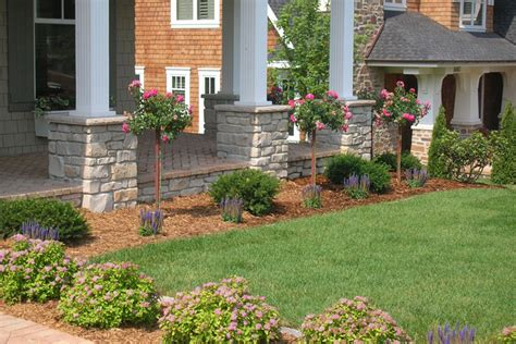 Front Lawn Garden Ideas Front Entrance Landscaping Ideas Front Yard Landscape