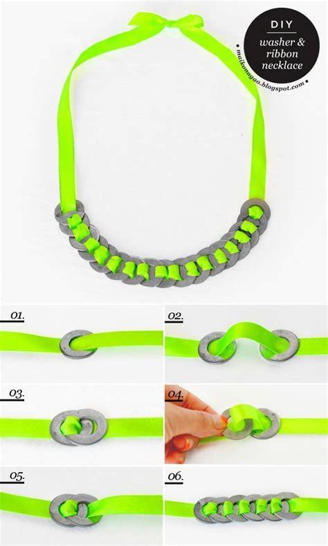 Kalung Tali Susun Cantik 19 ide kalung buatan sendiri dari mulai bahan tali sai