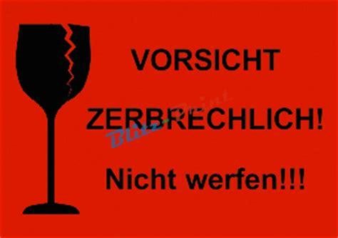 Aufkleber Paket Zerbrechlich by 40 Rote Warnetiketten Versand Etiketten Div Texte Ebay