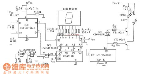 how to check integrated circuit number one digit random number generator circuit diagram measuring and test circuit circuit diagram