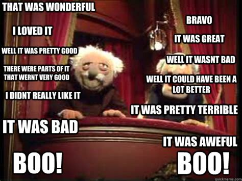 Statler And Waldorf Meme - statler and waldorf meme memes