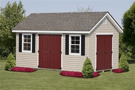 10 x16 classic cottage storage sheds chester