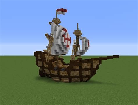 minecraft boat plans small medieval ship grabcraft your number one source