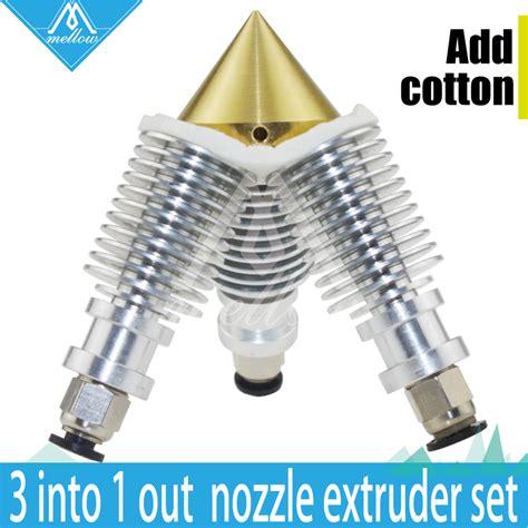 Hotend Color Multi Extruder 3d Printer hotend 3d printer extruder reprap sharper brass