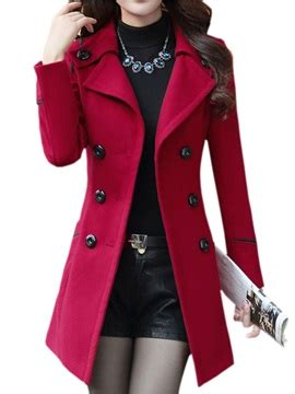 Trench Jacket Black Korean Style korean style slim trench coat tidebuy