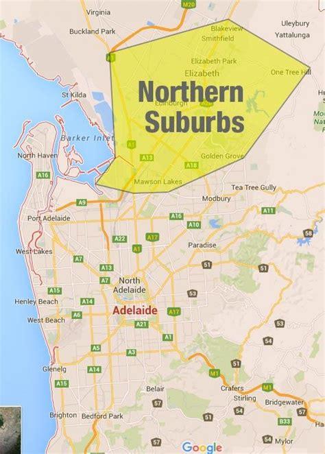 printable map adelaide suburbs adelaide northern suburbs map northern suburbs adelaide