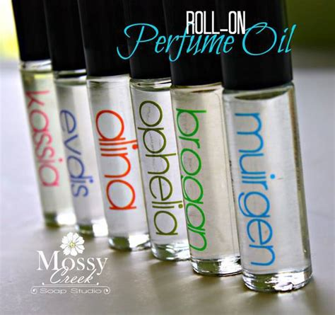 Perfume Label Design Templates Clear Roll On Perfume Container Labels By Mossy Creek Soap Customer Ideas Onlinelabels Com