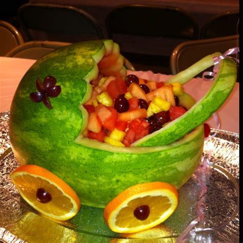 baby shower stroller fruit baby shower ideas - Baby Shower Fruit Stroller