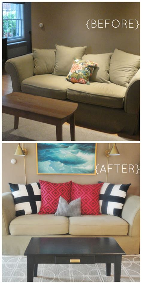 can you buy new cushions for a couch 28 ways to bring new life to an old sofa remodelaholic