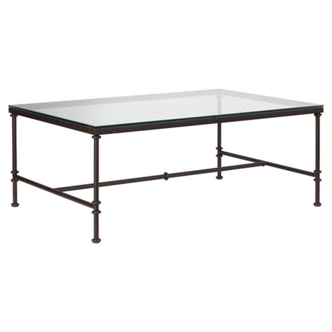 pompidou metal glass coffee table small oka