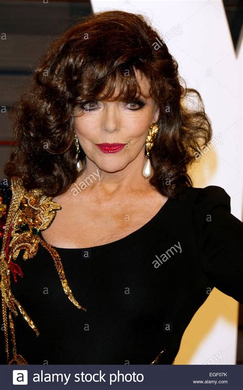 actress vanity actress joan collins attends the vanity fair oscar party