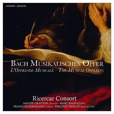 bach musikalisches opfer the musical offering l ricercar consort bach s instrumental works discography