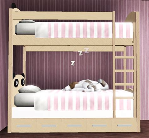 sims 3 beds my sims 3 blog panda bunk beds by pauleanr
