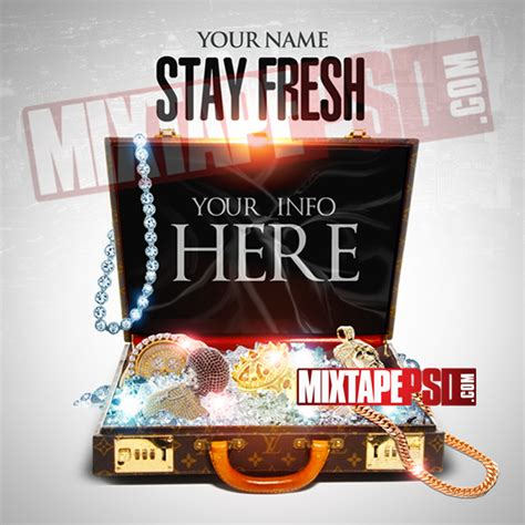 free mixtape templates mixtape psd template stay fresh mixtapepsd