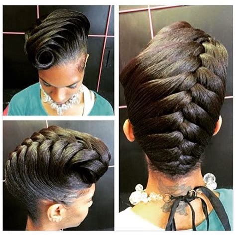 hairstyles for short relaxed hair without heat easy hairstyles for medium black relaxed hair hairstyles