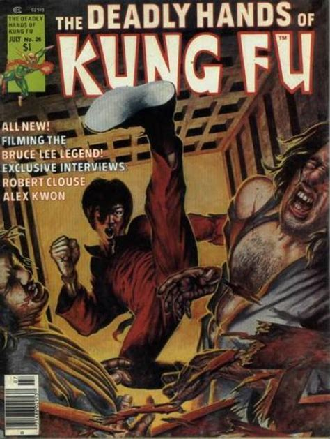 deadly hands of kung the deadly hands of kung fu volume comic vine