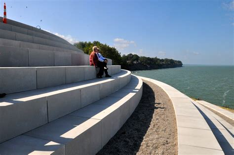 lakewood park to the official opening of the summer solstice steps at lakewood park the city