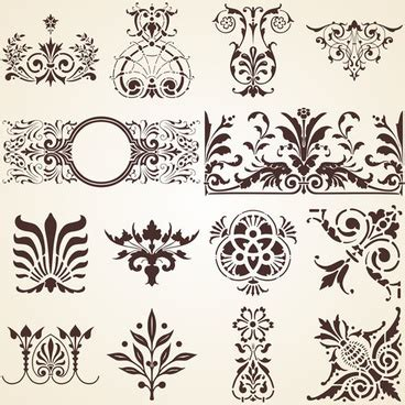 antique design elements 30 vector free royal vectors designs free vector download 552 free