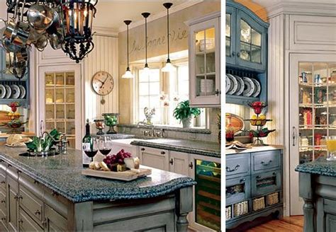 country blue kitchen cabinets table bed kitchen furniture the charm of