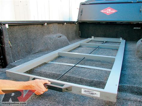 truck bed slider diy truck bed slide