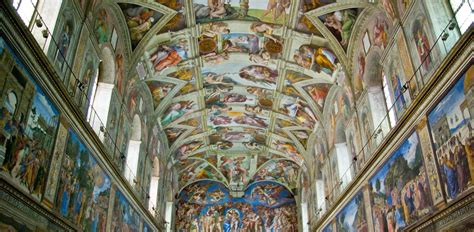 When Was The Ceiling Of The Sistine Chapel Painted by Vatican Museums Sistine Chapel Romandream