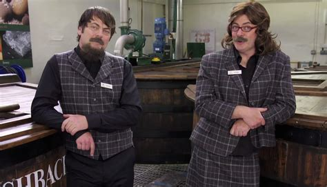 nick offerman youtube whiskey watch nick offerman gets in drag for single malt whisky