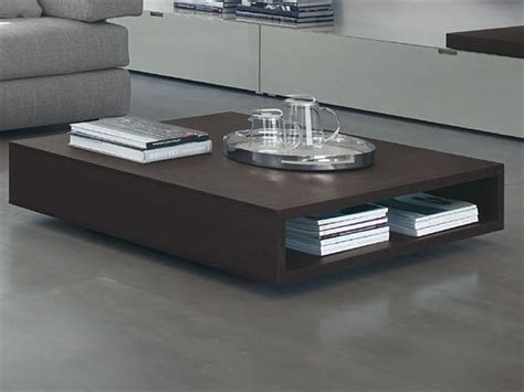 Low Wooden Coffee Table 10 Modern Coffee Tables