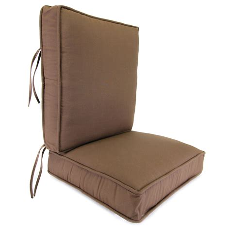 patio furniture seat cushions furniture lowes high back outdoor chair cushions modern
