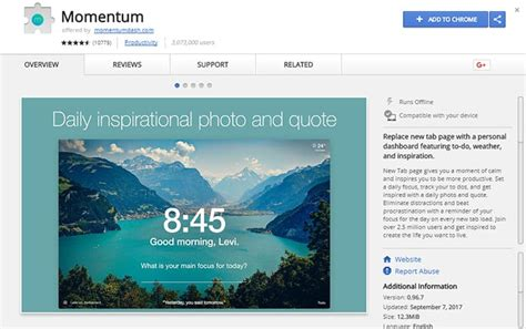 chrome extension momentum 50 best chrome extensions to download in 2018