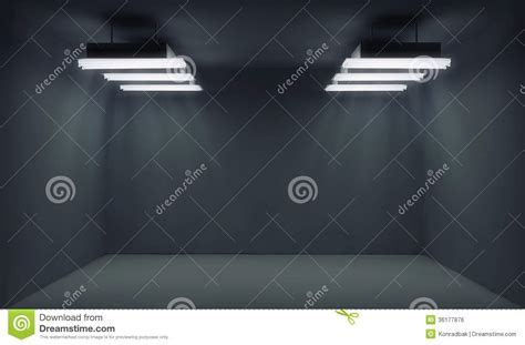 empty dark room  lightrays royalty  stock image