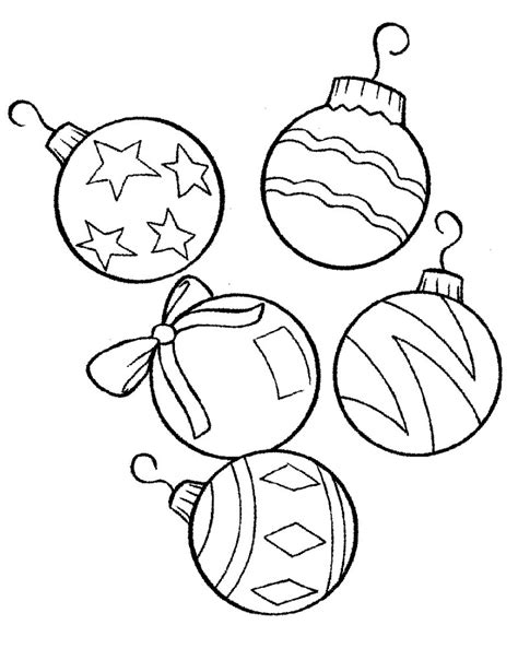 Download Coloring Pages Free Printable Christmas Ornament Free Printable Lights Coloring Pages