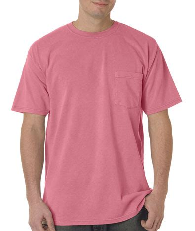 comfort colors pocket t shirts custom comfort colors 6030 pocket t shirt greekshirts