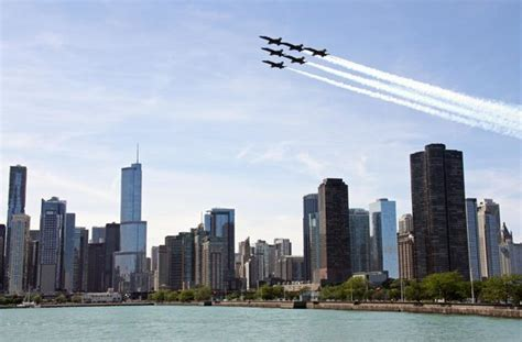 air boat show chicago blue angels practicing for air and water show picture of