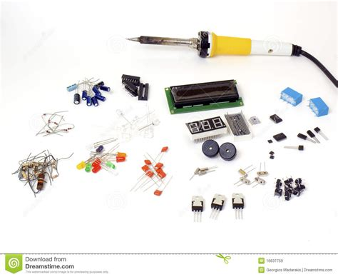 electronics parts resistors electronic parts stock image image of component resistors 16637759