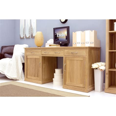 mobel desk large hideaway home computer solid oak