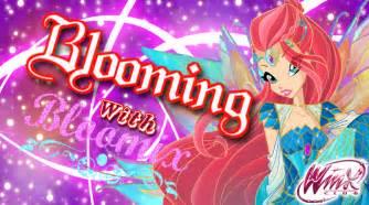 bloom bloomix wallpaper the winx club fan art