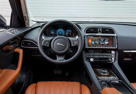 jaguar f pace inside 2017 jaguar f pace release date price review 35d 20d